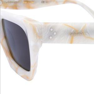 4207f039e5 Celine Accessories - Authentic CELINE Kate Sunglasses White Marble